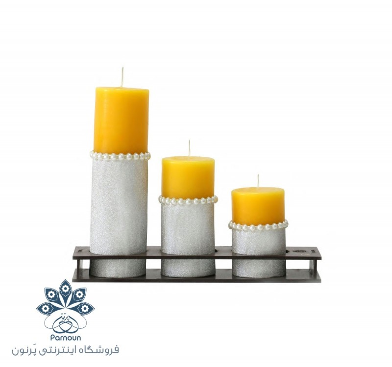 شمع استوانه ای زینتی کد 502