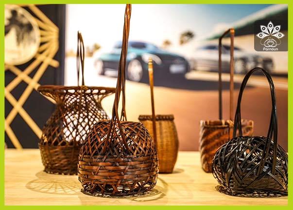 صنایع دستی بامبوبافی در چین