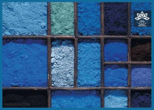 رنگ آبی نشانه چیست