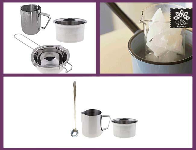 ظرف مخصوص ذوب کردن موم یا پارافین