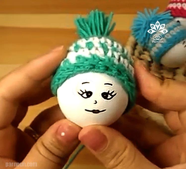 کلاه تخم مرغ طرح یک