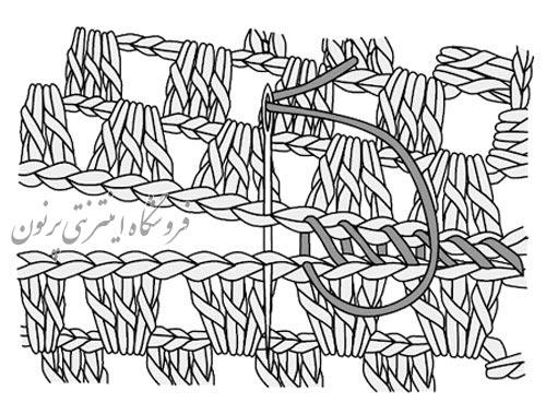 موتیف در قلاب بافی