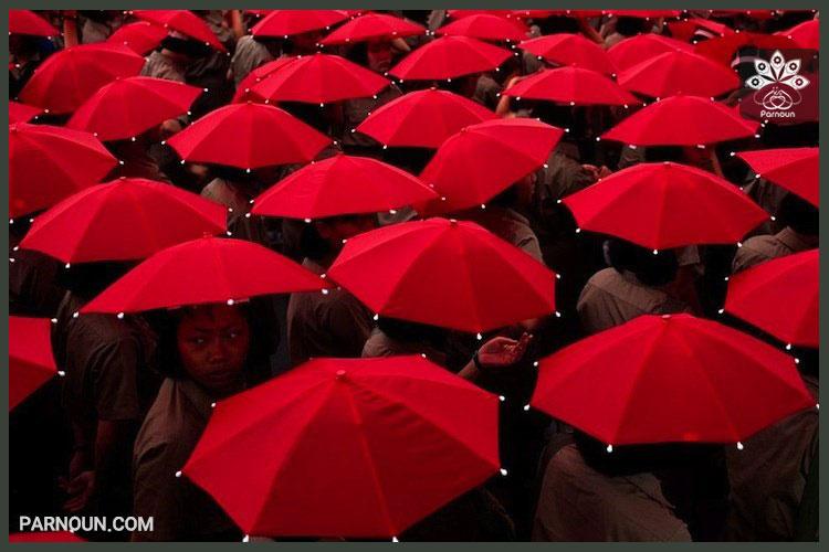 تاثیر رنگ قرمز در شخصیت افراد